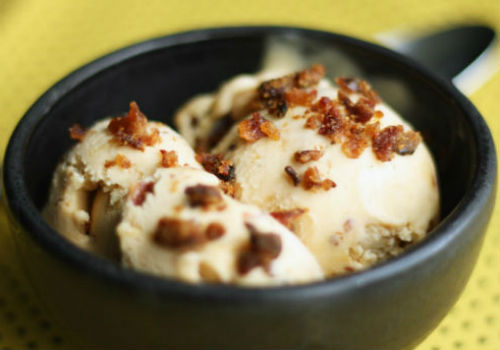 bacon ice cream feature