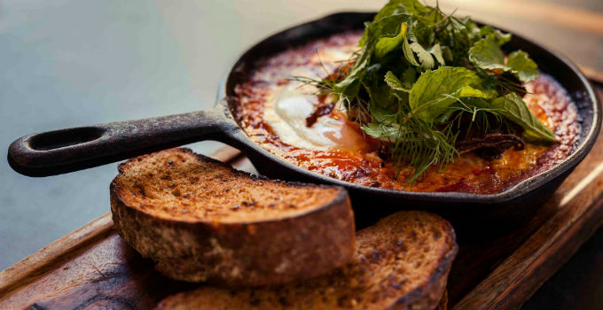 baked eggs brisbane breakfast gerards