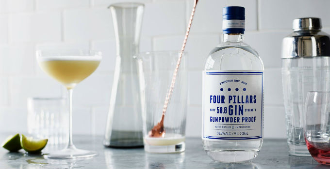 australian spirits four pillars