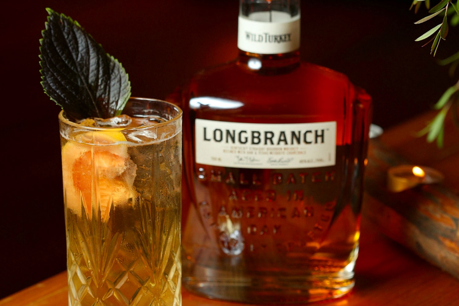 Wild Turkey Longbranch Citrus Highball Recipe