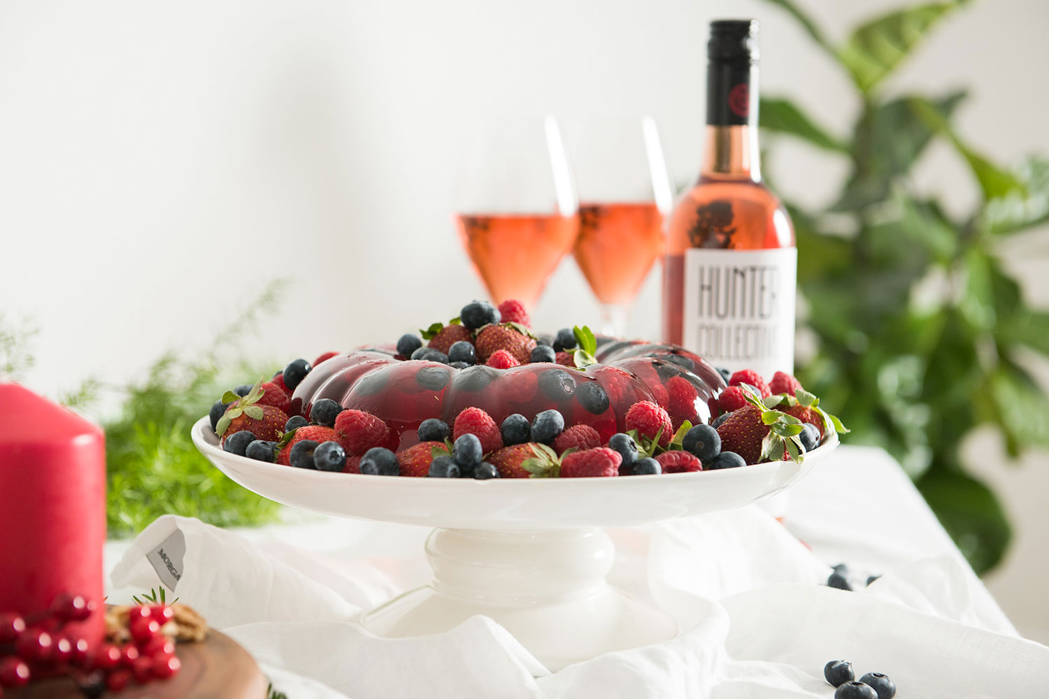 Recipe Rosé Jelly Cake